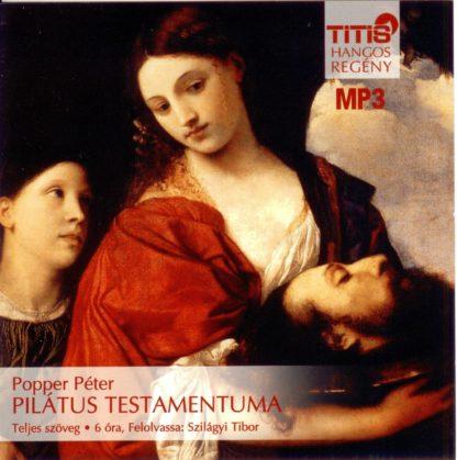 Popper Péter: Pilátus testamentuma hangosköny