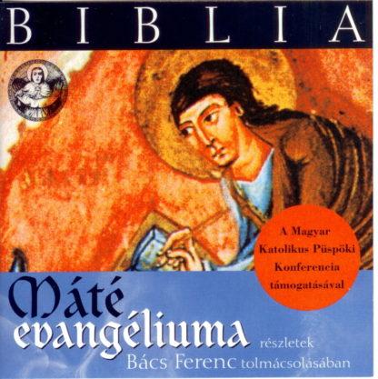 Biblia - Máté evangéliuma (audio CD)-0