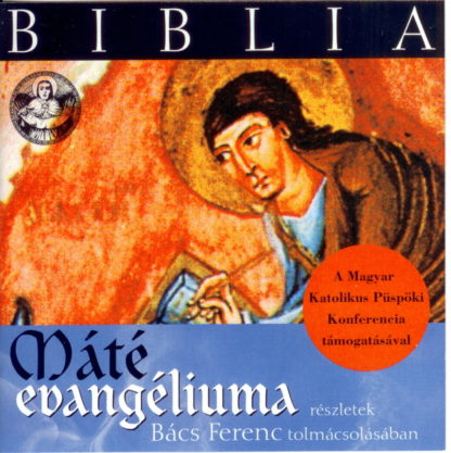 Biblia - Máté evangéliuma (audio CD)-0