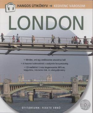 London - Hangos Útikönyv (könyv + CD)-0