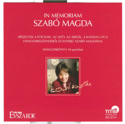 In Memoriam Szabó Magda (audio CD)-0