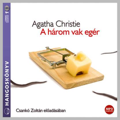 Agatha Christie: Három vak egér hangoskönyv