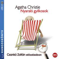 Agatha Christie: Nyaraló gyilkosok hangoskönyv