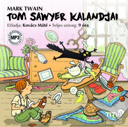 Tom Sawyer kalandjai (MP3 CD)