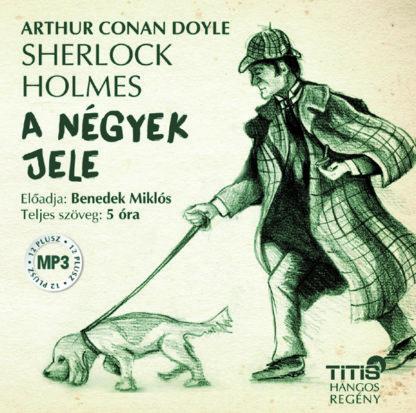 Sherlock Holmes - A négyek jele (MP3 CD)