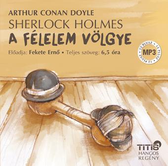 Sherlock Holmes – A félelem völgye (MP3 CD)