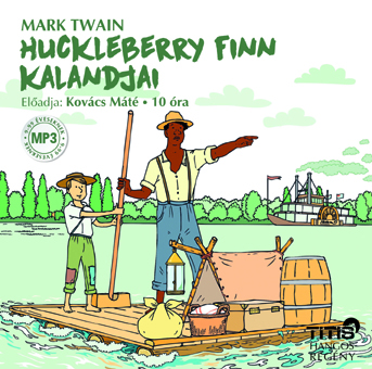 Huckleberry Finn kalandjai (MP3 CD)
