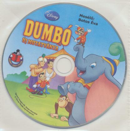 Dumbó új mutatványa – Walt Disney – Hangoskönyv (audio CD)