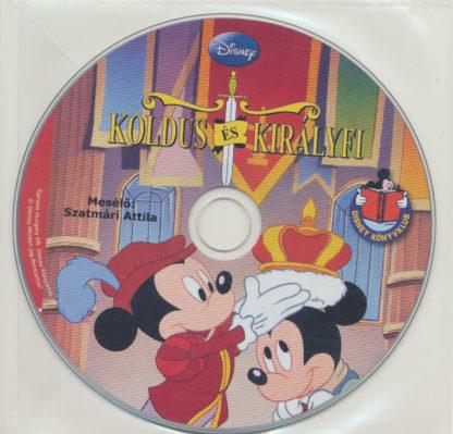 Koldus és királyfi – Hangoskönyv (audio CD)