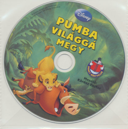 Pumba világgá megy – Walt Disney – Hangoskönyv (audio CD)