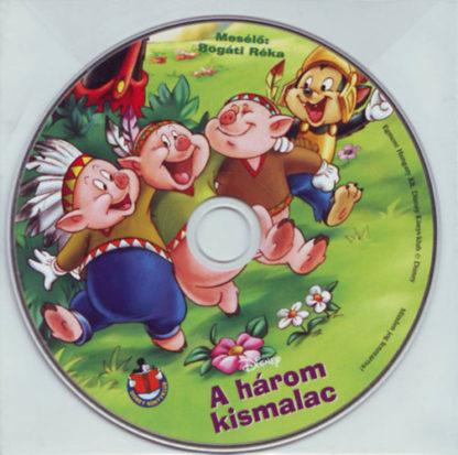 A három kismalac – Hangoskönyv (audio CD)
