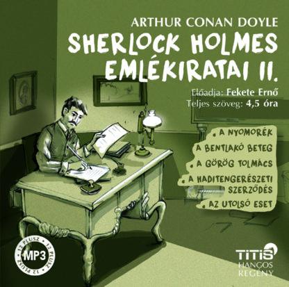 Sherlock Holmes emlékiratai II. (MP3 CD)