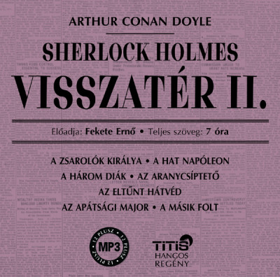 Sherlock Holmes visszatér II. (audio CD)